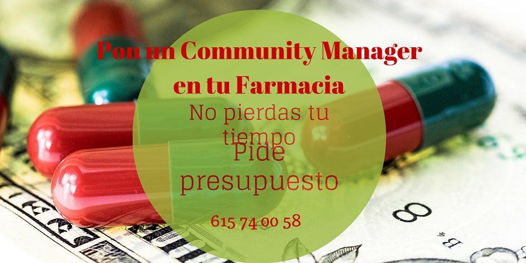 Servicios de Community manager  para farmacias en donostia, gipuzkoa